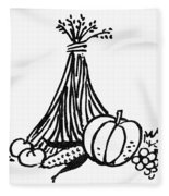 Symbol: Thanksgiving Fleece Blanket