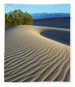 Symphony Of The Sand Fleece Blanket