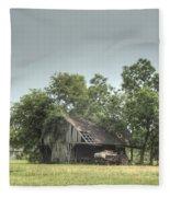 T Barn 1 Fleece Blanket