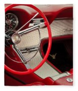 T-bird Interior Fleece Blanket