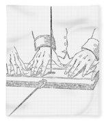 Table-turning Device, 1853 Fleece Blanket