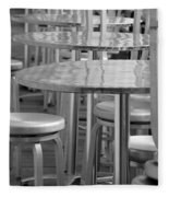 Tables And Stools Fleece Blanket