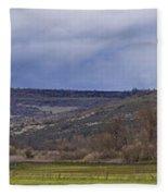 Tabletop Panorama Fleece Blanket