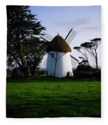 Tacumshane Windmill, Co Wexford, Ireland Fleece Blanket