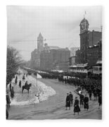 Taft Inauguration, 1909 Fleece Blanket