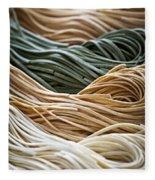 Tagliolini Pasta Fleece Blanket