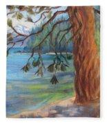 Tahoe Light Sugar Pine Point State Park Fleece Blanket