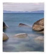 Tahoe Rocks Fleece Blanket