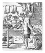 Tailors, 16th Century Fleece Blanket