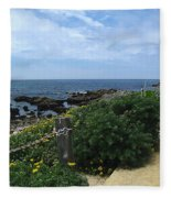 Take A Walk With Me Fleece Blanket