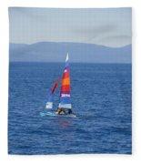 Tall Sail Fleece Blanket