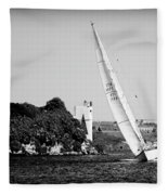 Tall Ship Race 1 Fleece Blanket