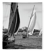 Tall Ship Races 2 Fleece Blanket