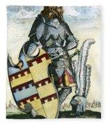 Tamerlane (1336?-1405) Fleece Blanket