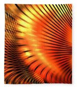 Tangerine Fleece Blanket