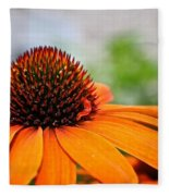 Tangerine Summer Fleece Blanket