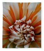 Tangerine Tinged Fleece Blanket