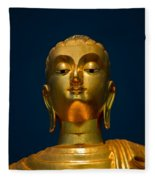 Tangsai Buddha Fleece Blanket