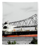 Tanker Baton Rouge Fleece Blanket
