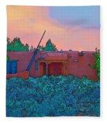 Taos Casita II Fleece Blanket