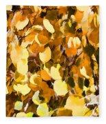 Taos Gold Iv Fleece Blanket