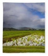 Taro Storm Fleece Blanket