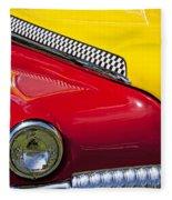 Taxi De Soto Fleece Blanket