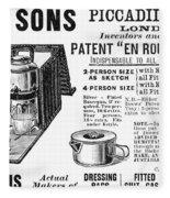 Tea Service, 1898 Fleece Blanket