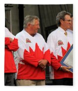 Team Canada 1 Fleece Blanket