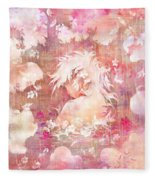 Tears Of The Rain Fleece Blanket