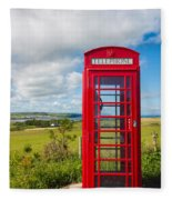Telephone Anyone Fleece Blanket