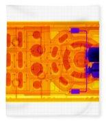 Television Remote Control Fleece Blanket