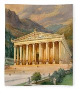 Temple Of Diana Fleece Blanket