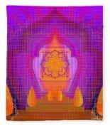Temple Of The Inner Flame 2012 Fleece Blanket