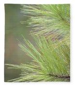 Tender Pines Fleece Blanket