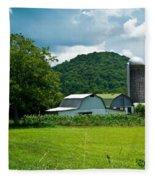 Tennessee Farm 1 Fleece Blanket