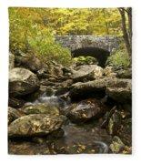 Tennessee Stone Bridge 6062 Fleece Blanket
