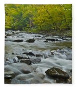 Tennessee Stream 6031 Fleece Blanket
