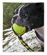 Tennis Ball Mist Fleece Blanket