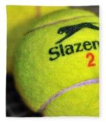 Tennis Balls Fleece Blanket