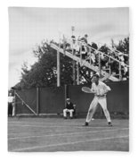 Tennis Player, C1920 Fleece Blanket