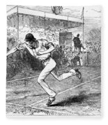 Tennis: Wimbledon, 1880 Fleece Blanket