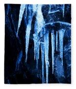 Tentacles Of Ice Fleece Blanket