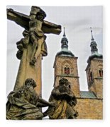 Tepla Monastery - Czech Republic Fleece Blanket