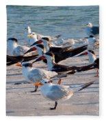 Terns Fleece Blanket