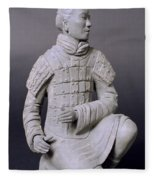 Terracotta Warrior  Fleece Blanket