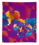 Testosterone Crystal Fleece Blanket