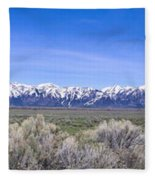 Teton National Park Panarama Fleece Blanket