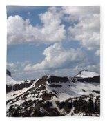 Teton Range Fleece Blanket