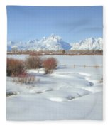 Teton Snow Fleece Blanket